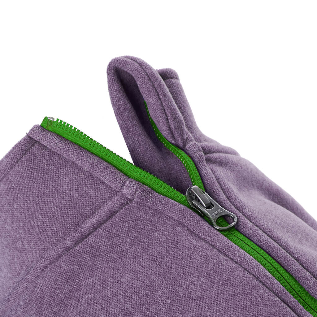 Zip Up Microfiber Fleece