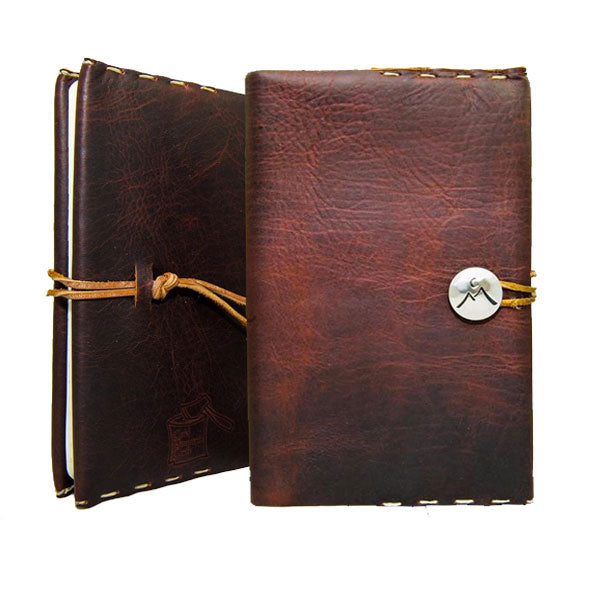 "Medium ""Classic"" Leather Journal Cover"