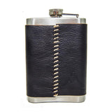 "8 oz Premium Stainless Steel ""Custom"" Flasks (4 Pack)"