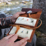 Leather Fly Wallet with Optional Flies