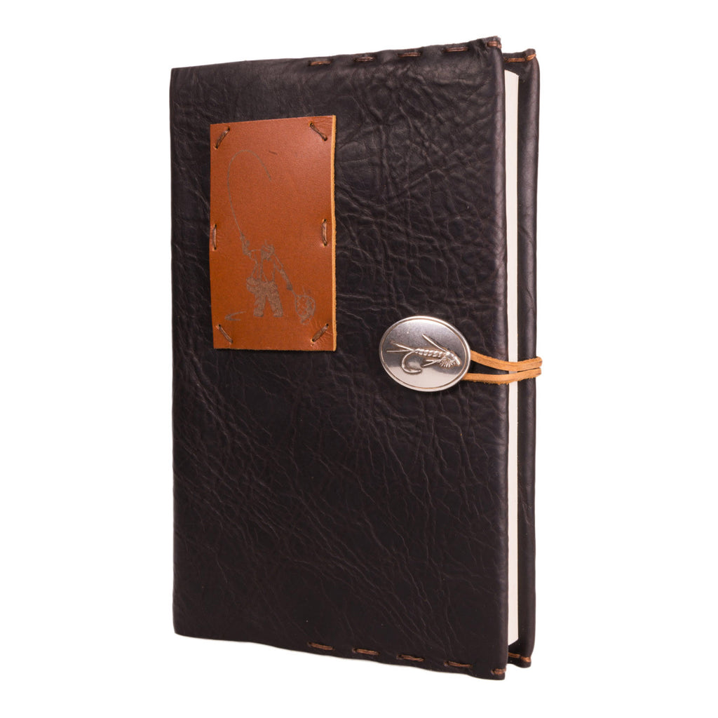 Limited Edition Midnight Espresso Journal with Fisherman and Weaver Russet