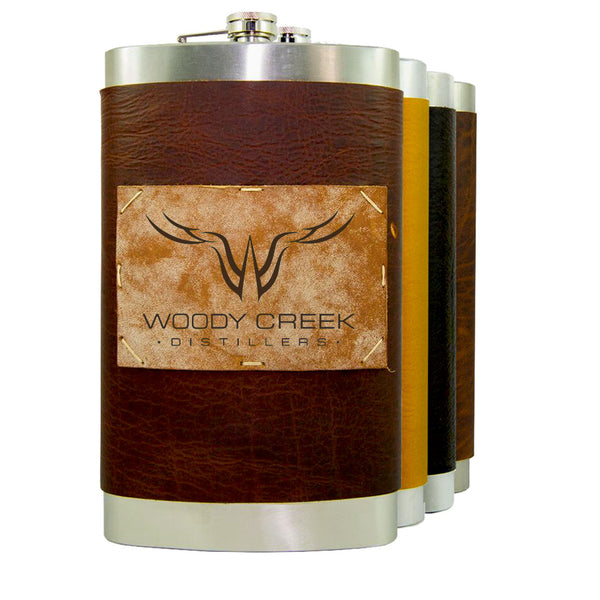 "64 oz Premium Stainless Steel ""Custom"" Flasks (4 Pack)"