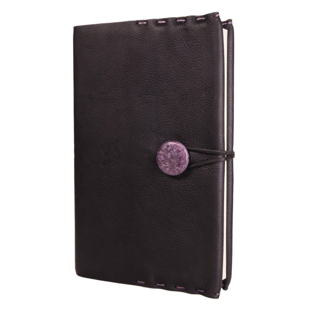 Limited Edition Medium Leather Journal with Beaded Fastener
