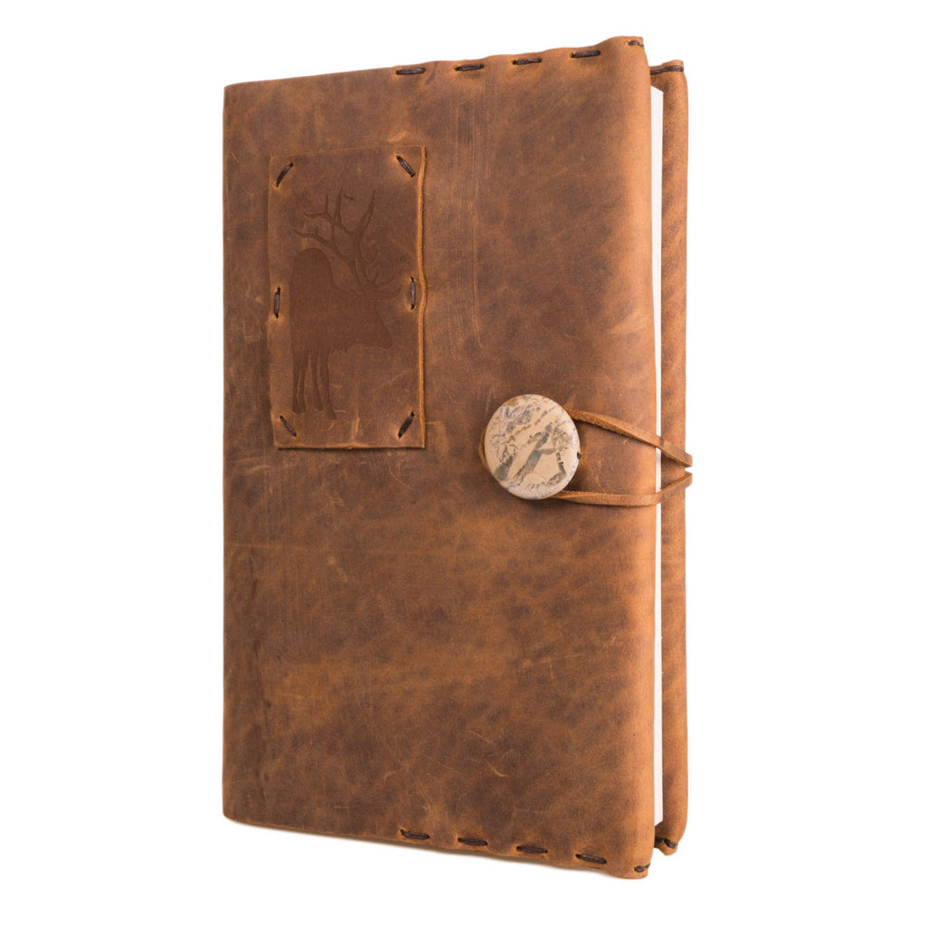 Limited Edition Chiptan Sand Journal with Elk and Jasper