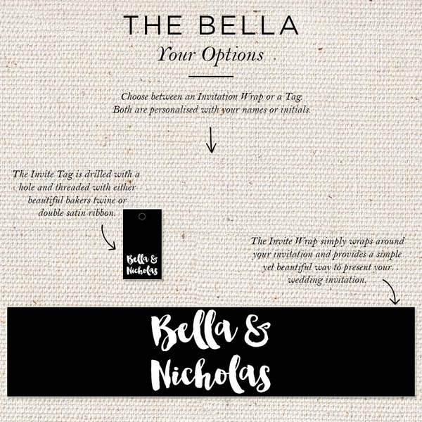 Bella Folded Invites