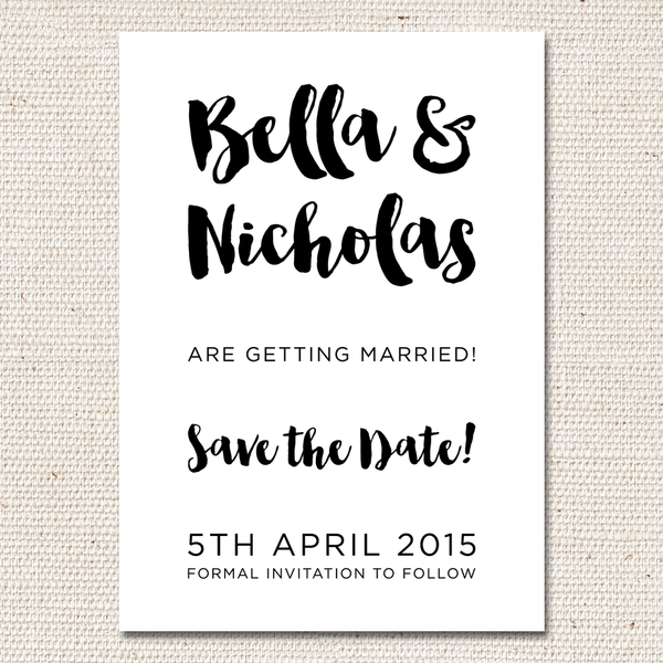 Bella Save-the-Date