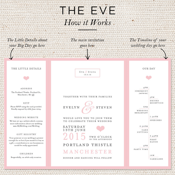 Eve Folded Invites
