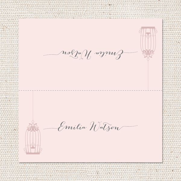 Harriet Place Cards