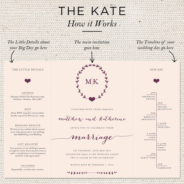 Kate Day Invites [Folded]