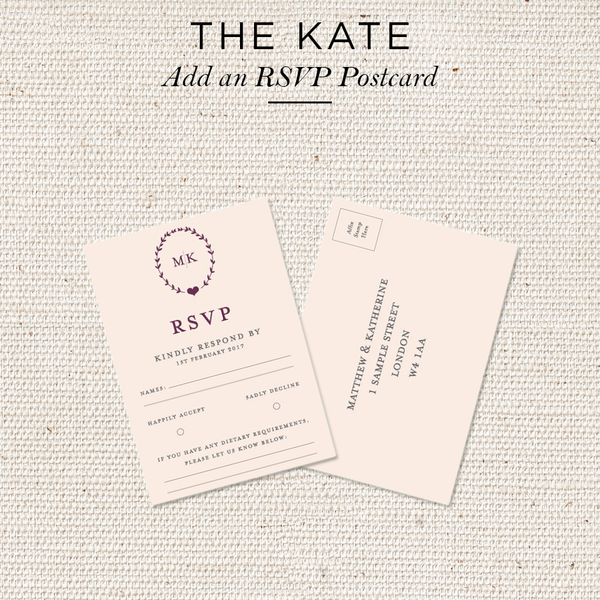 Kate Folded Invites