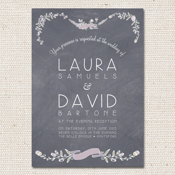 Laura Evening Invite [Flat]