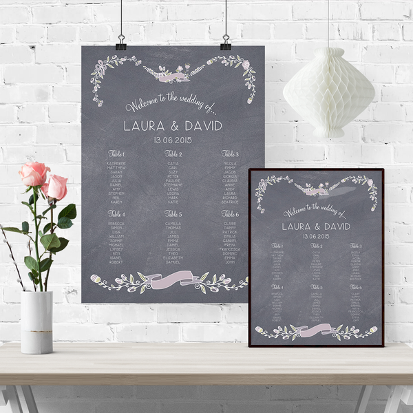 Laura Table Plan