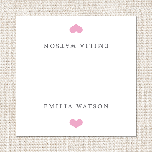 Elizabeth Place Cards