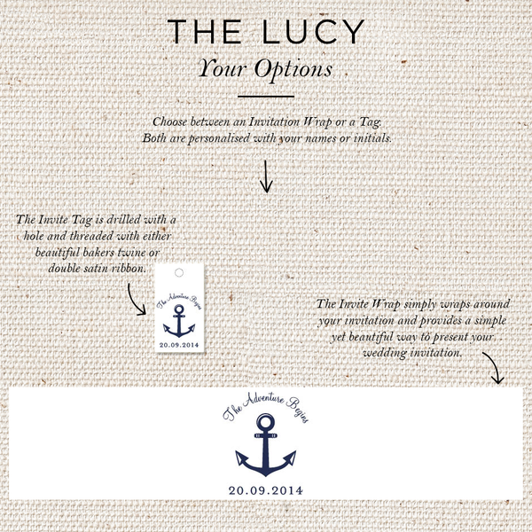 Lucy Folded Invites