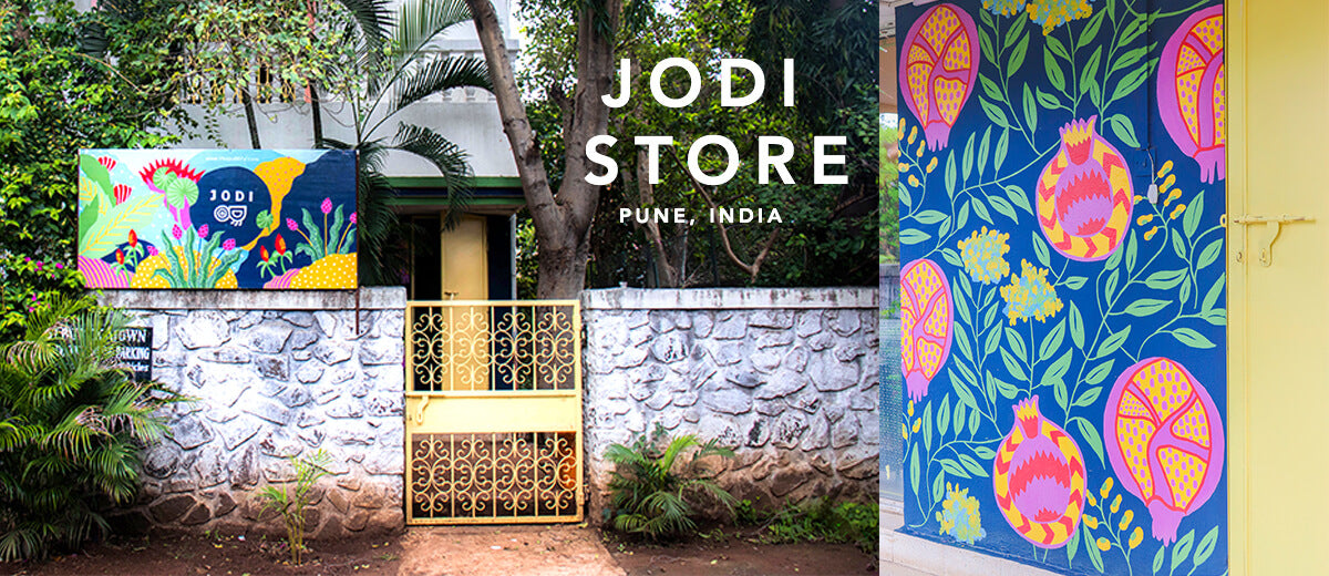 9a85748676 Jodi Store. In addition to our online store, we also have a non-virtual,  real life shop in Pune, India. If you're nearby, come and see us, say hi,  ...
