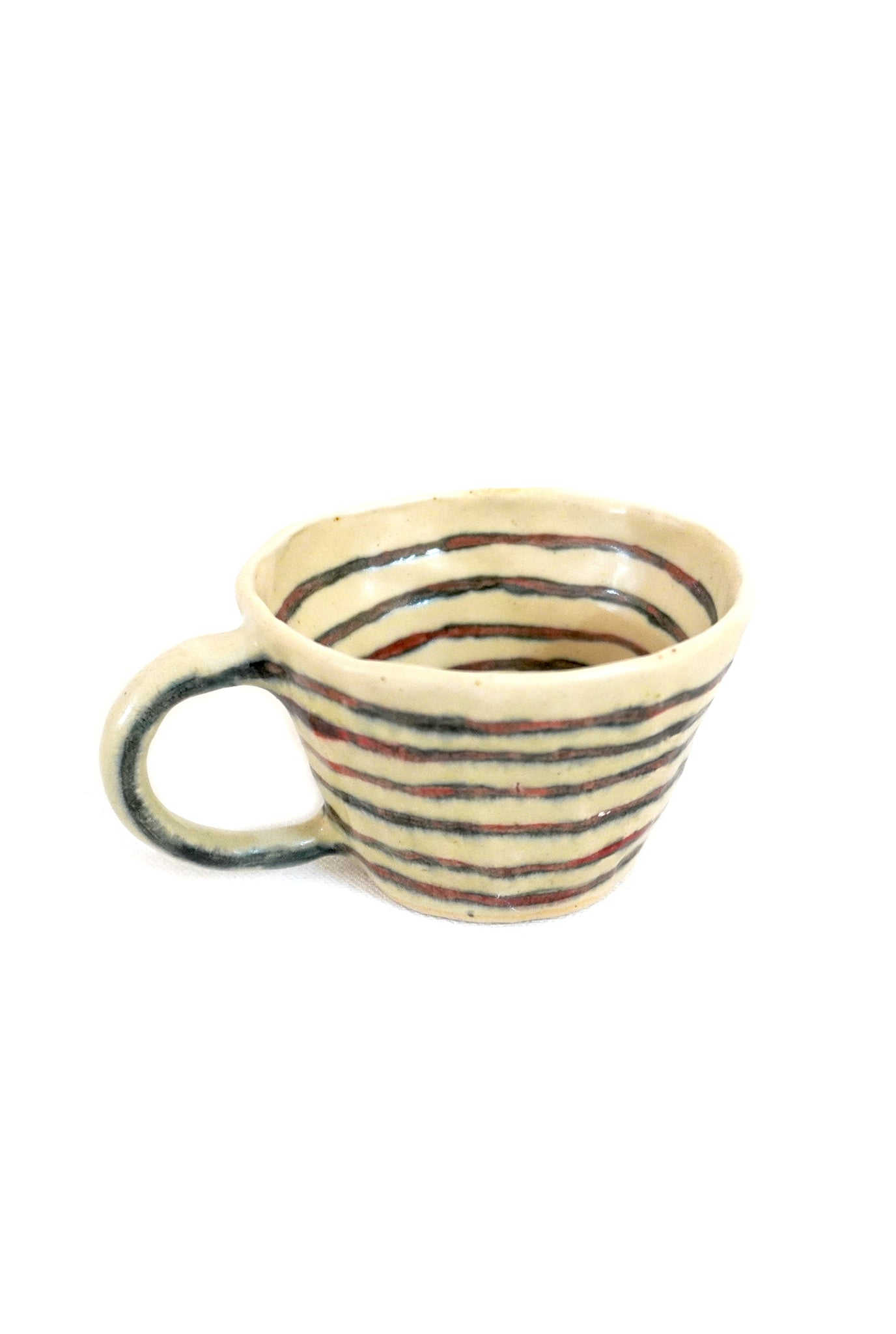 STRIPED CUPS - SET OF 2