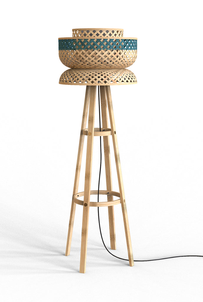MIANZI LOTUS FLOOR LAMP