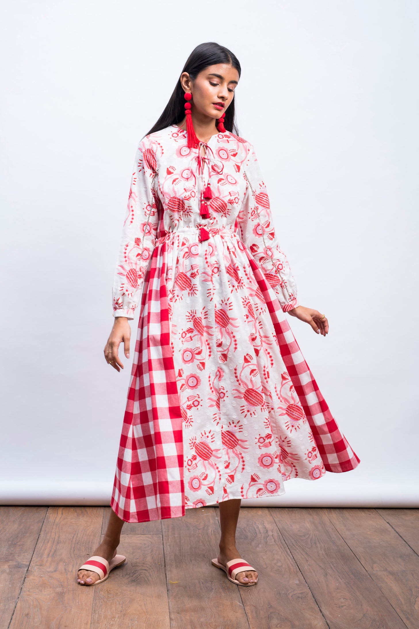 SAKURA PEASANT DRESS