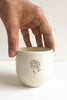 MINIMAL INDIAN BAAG TEACUPS - SET OF 4