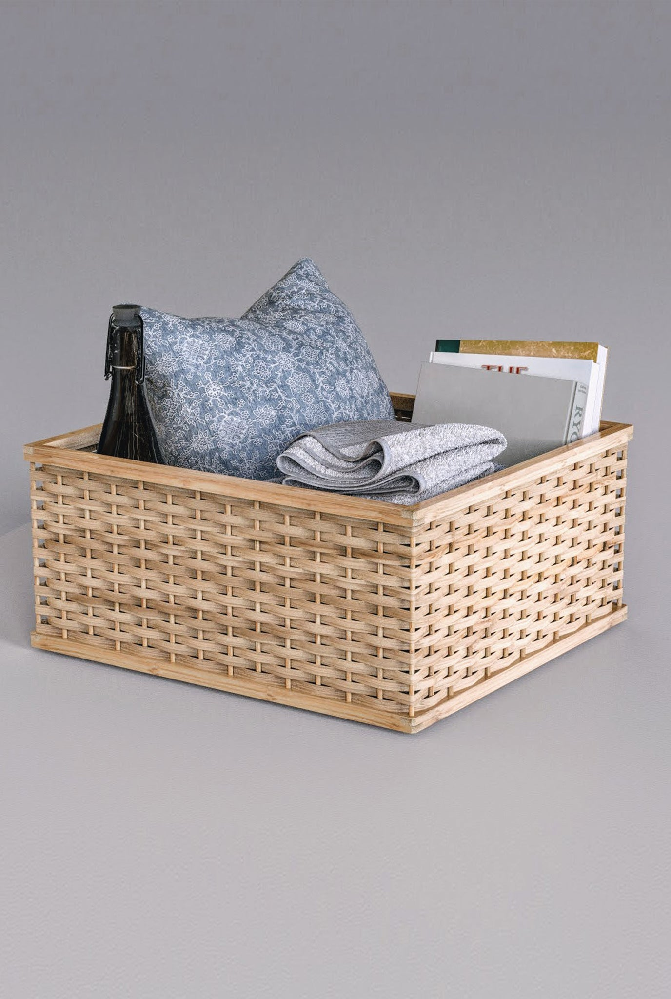MIANZI STACKABLE SQUARE BASKET