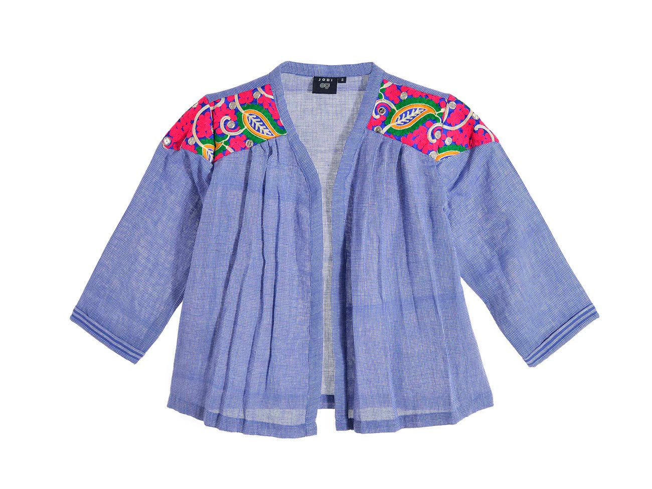 Towel Jacket - Iris Blue