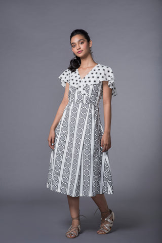 SWAHILI PRINT SAILOR DRESS