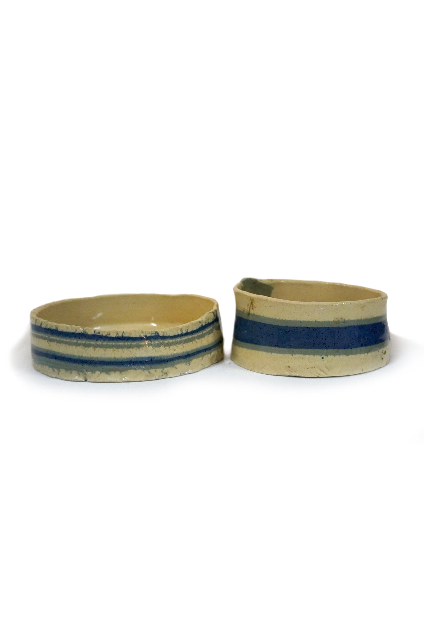 BLUE RIBBON BOWLS - SET OF 2