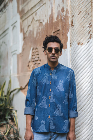 FOX DENIM SHIRT
