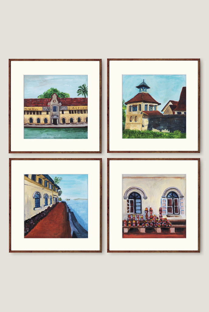 FORT COCHIN SET 1 ART PRINT