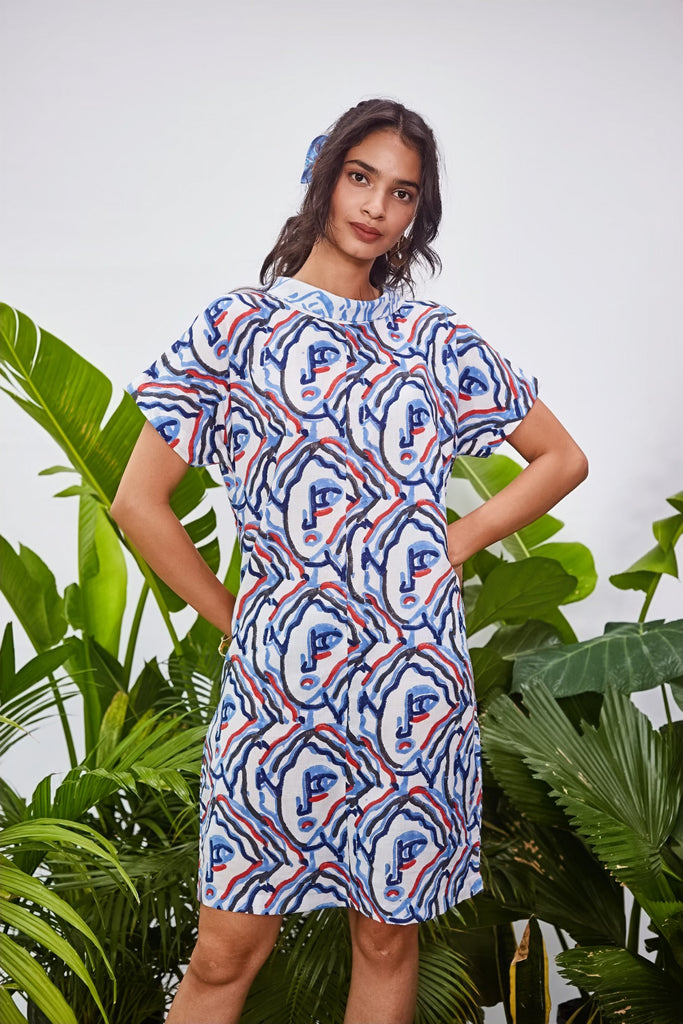 PICASSO SHIFT DRESS