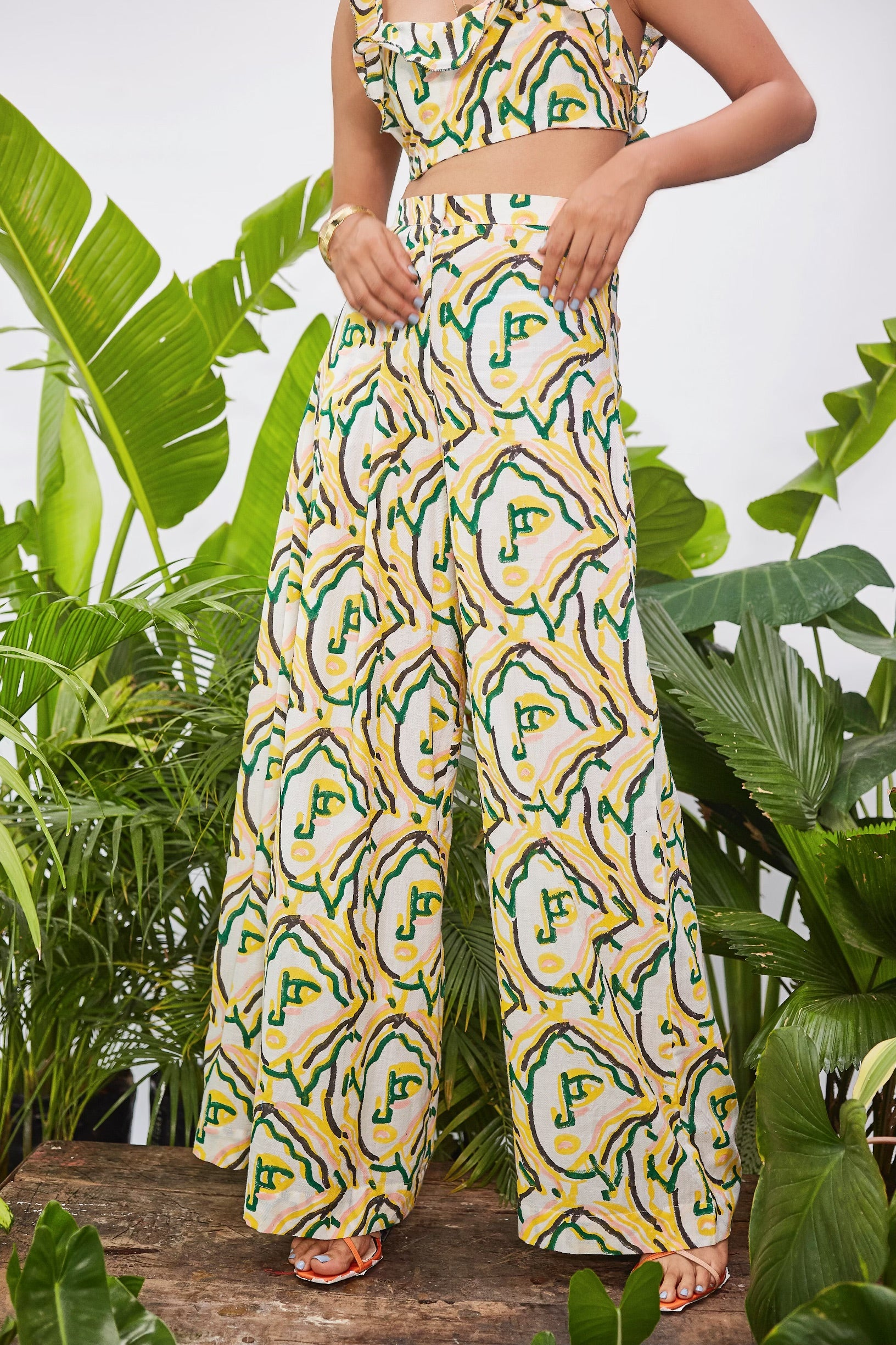 PICASSO PLEATED TROUSERS