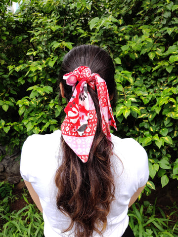 MATISSE RUBY TIE UP SCRUNCHIE