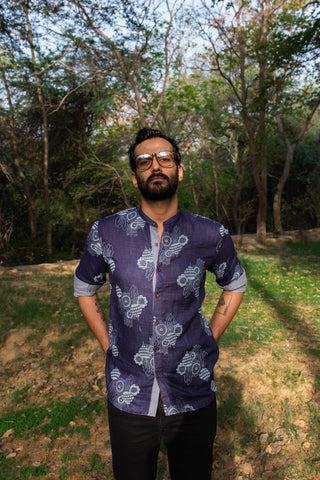 INDIGO BEETROOT SHIRT
