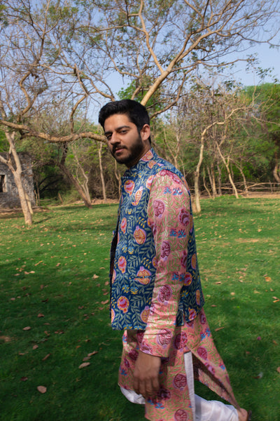 Silk anar Nehru Jacket