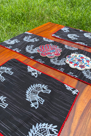 YARA REVERSIBLE TABLE MATS (SET OF 4)