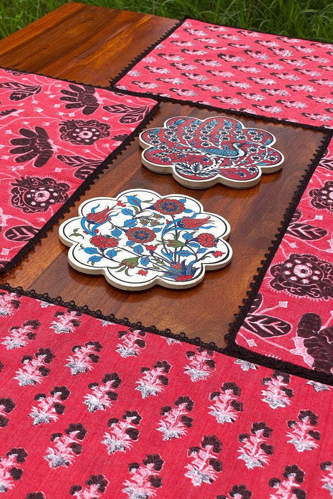 FATIMA REVERSIBLE TABLE MATS (SET OF 4)
