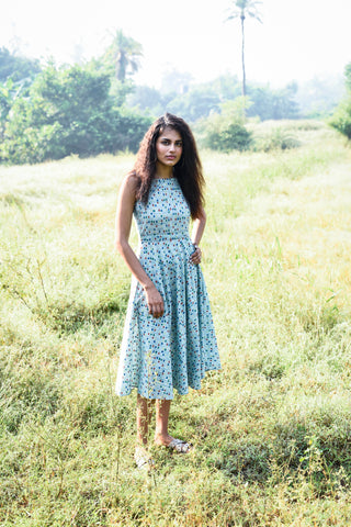 SEA FOAM MAXI DRESS