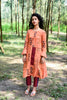 PUMPKIN ORANGE PARO KURTA