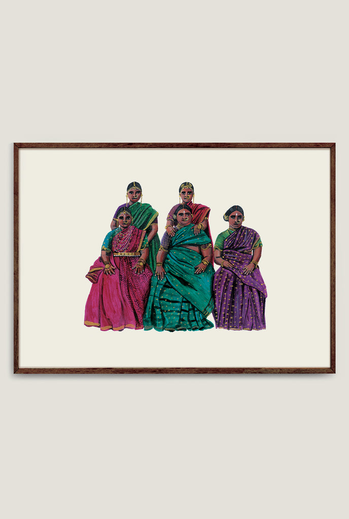SEATED WOMEN 1 ART PRINT