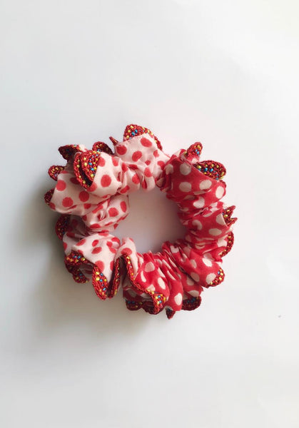 Aduke laced scrunchie