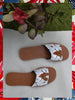 JODI  x Sole Sisters Cornflower Slides