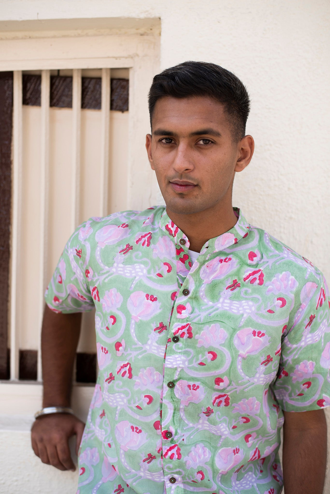 GOND SILK SHIRT