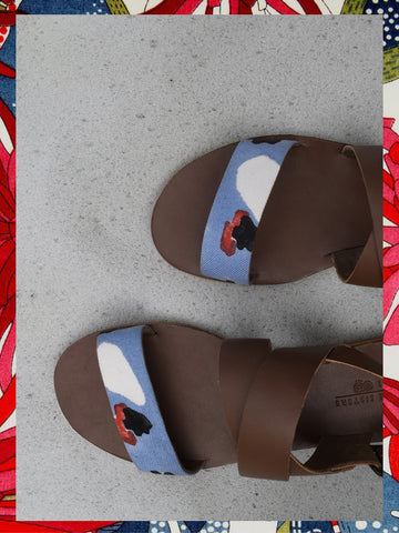 JODI  x Sole Sisters Flintstone Sandals