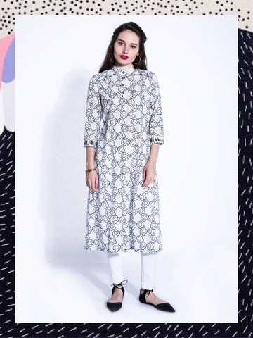 SHIRO PANSIES KURTA