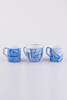 BLUE LINEAR CUP AND MUG SET