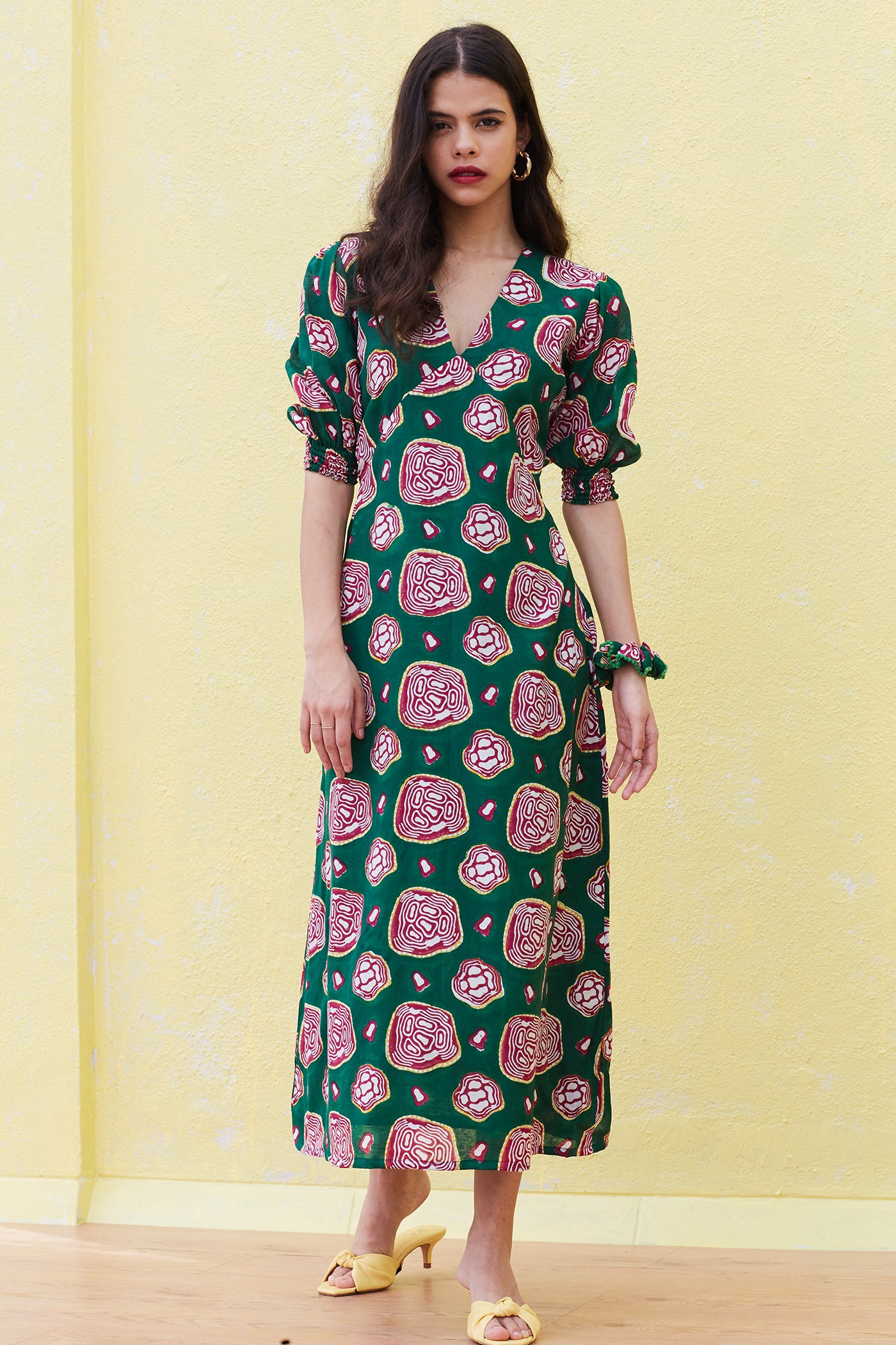 AMOEBA DAY DRESS