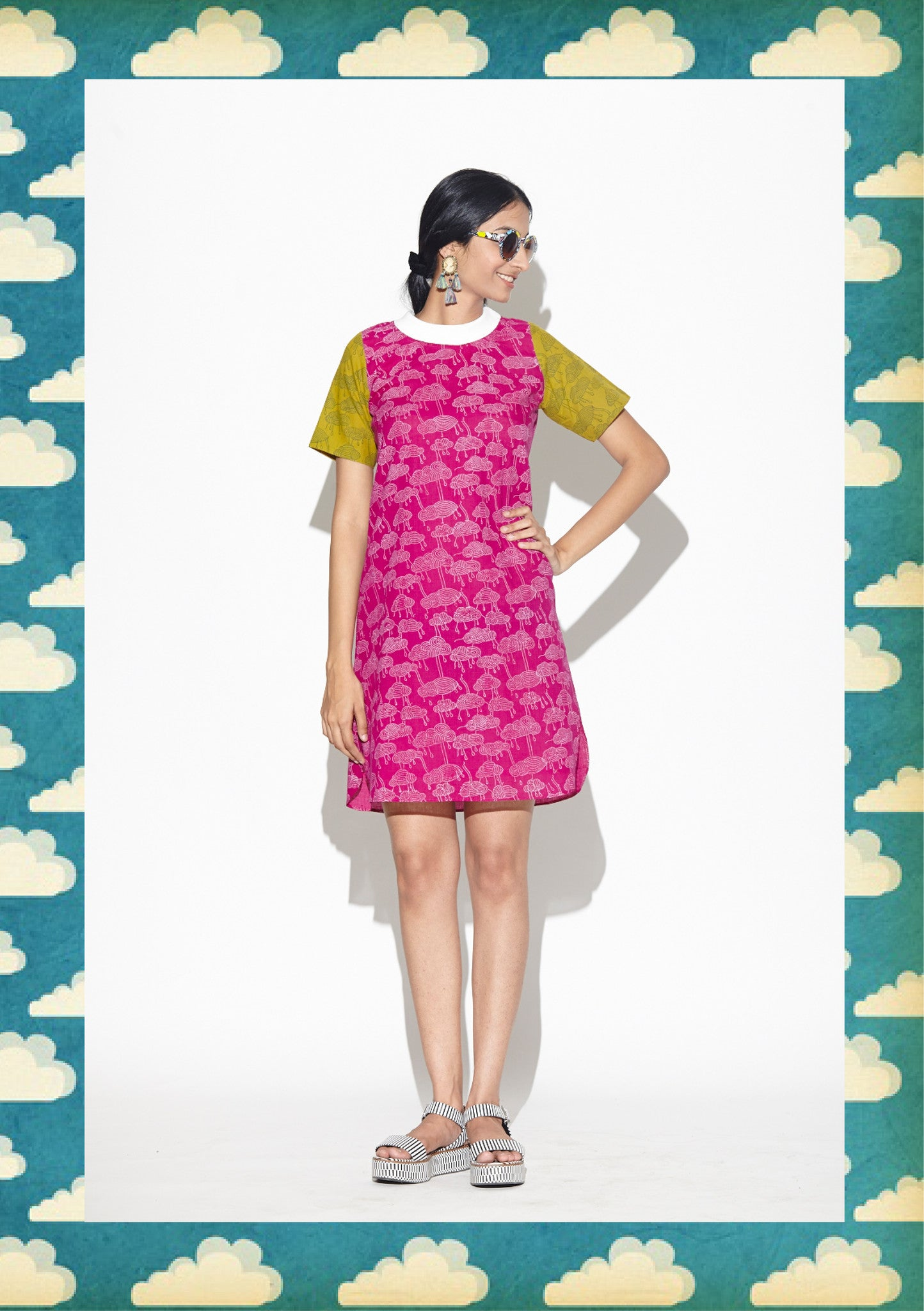 Ruby Cloud T-Shirt Dress