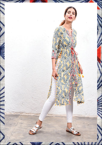 WILDFLOWER CAFTAN KURTA
