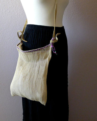 Chiapas netted bag #B