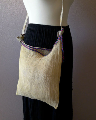 Chiapas netted bag #C